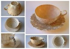 Креативные чашки для кофе из бумаги от Cecilia Levy (7)