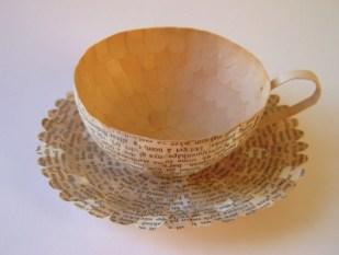 Креативные чашки для кофе из бумаги от Cecilia Levy (1)