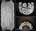 Архитектурные шедевры из бумаги от Ингрид Силиакус (1)