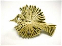 Красивые птицы, которые получаются из старых книг (1)