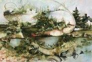 Современное искусство: объемные картины от Грегори Эвклида (8)