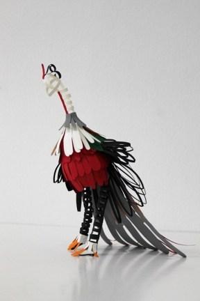 Удивительные бумажные скульптуры Дианы Белтран Херреры (1)