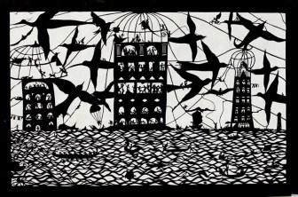 Беатрис Корон (Beatrice Coron) – создательница удивительных миров, городов и стран, вырезанных из бумаги (6)