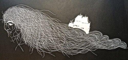 Вырезание из бумаги