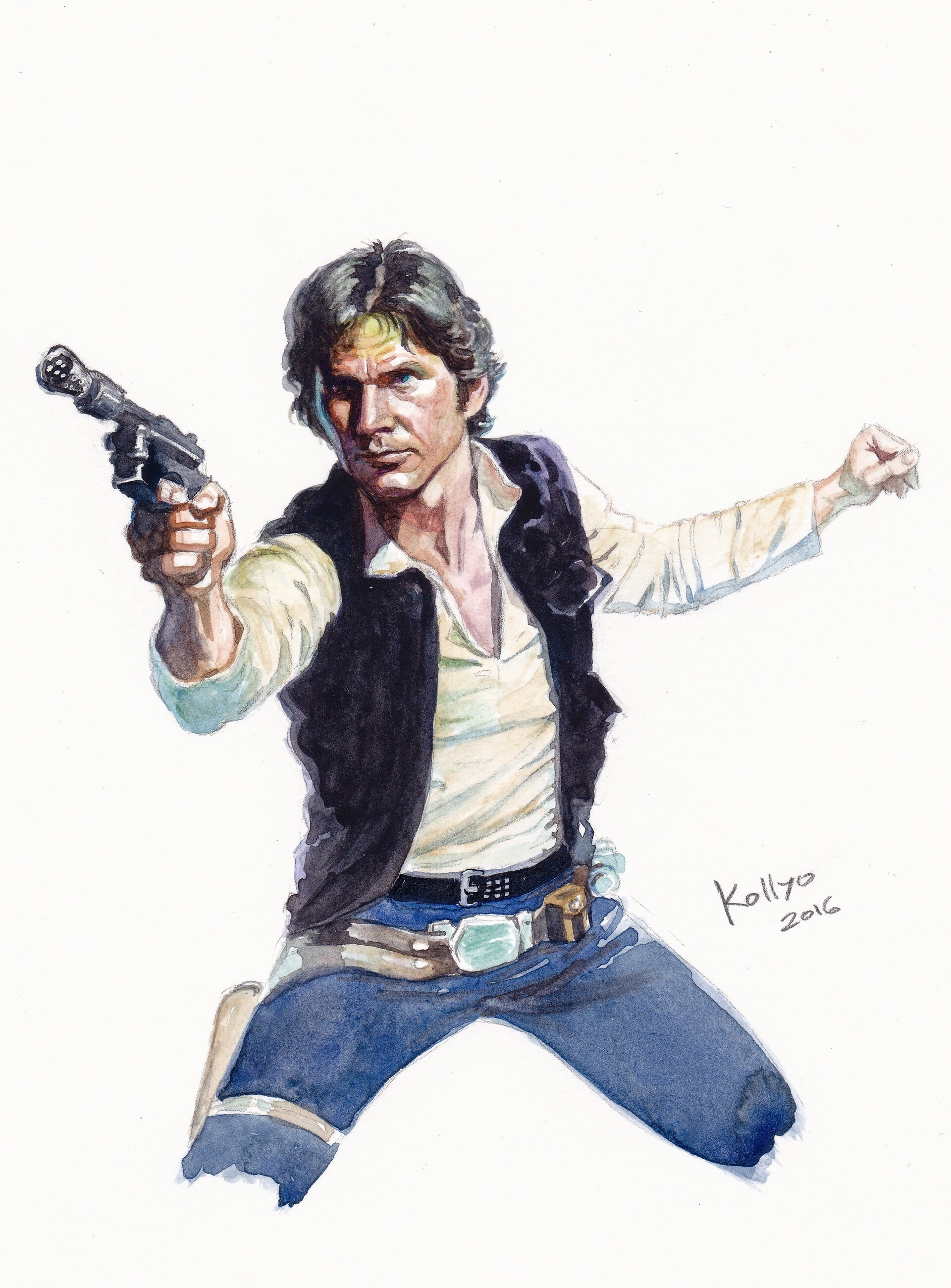 Han Solo by Nikolay Vachev