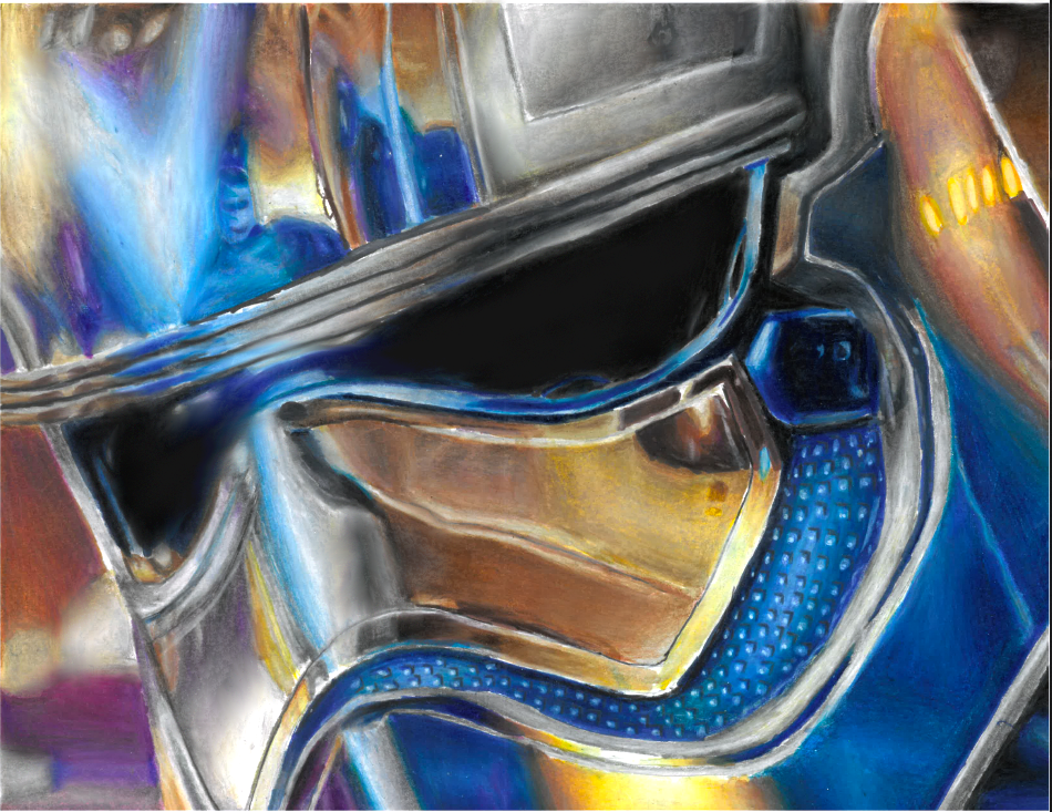 After a ton of time, Captain Phasma is complete. How do you guys like it.