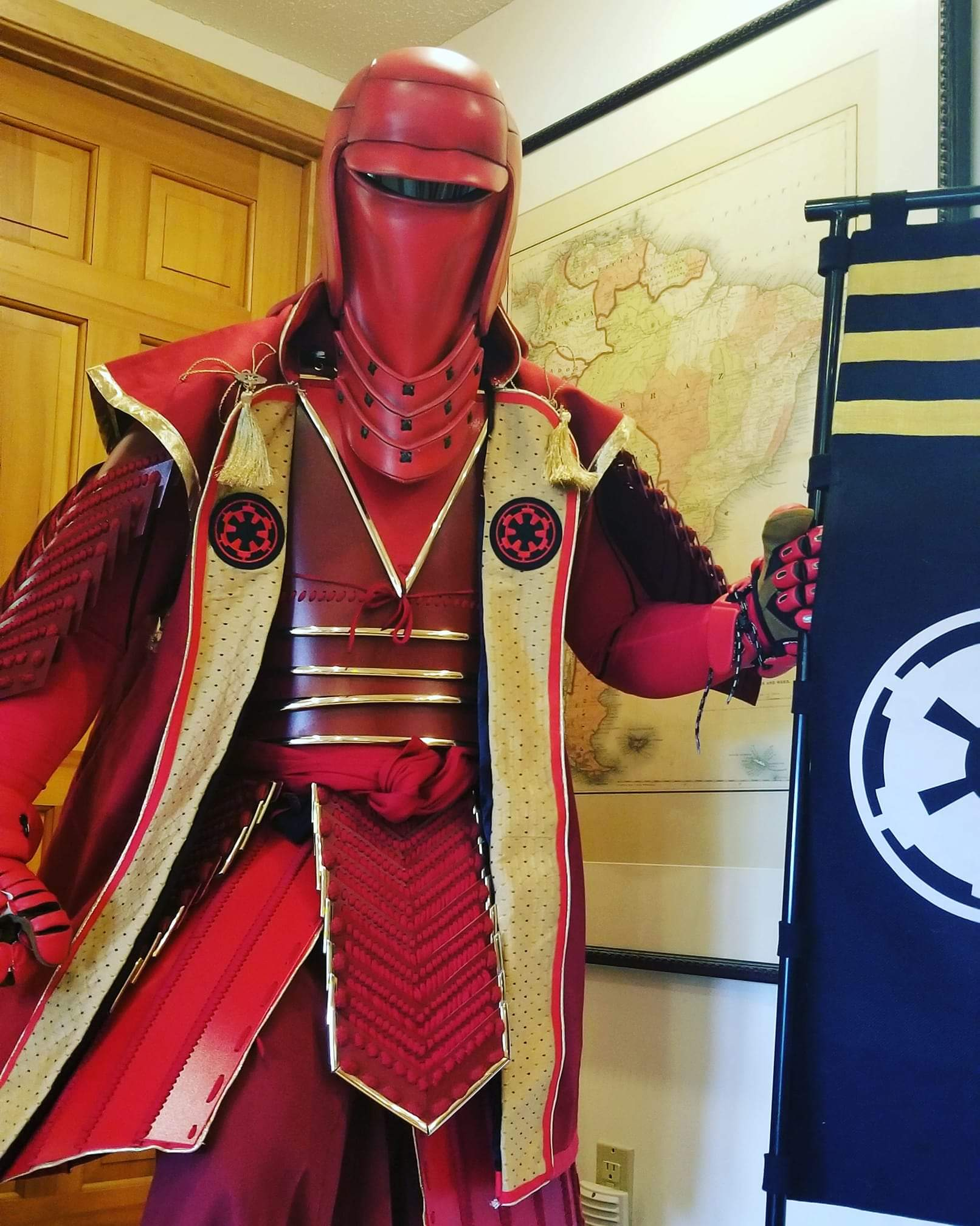 Samurai Imperial Guard cosplay by Ryan Kappes