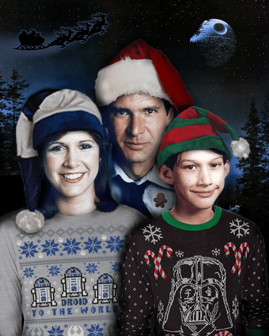 The Solo family wishes you a Merry Christmas