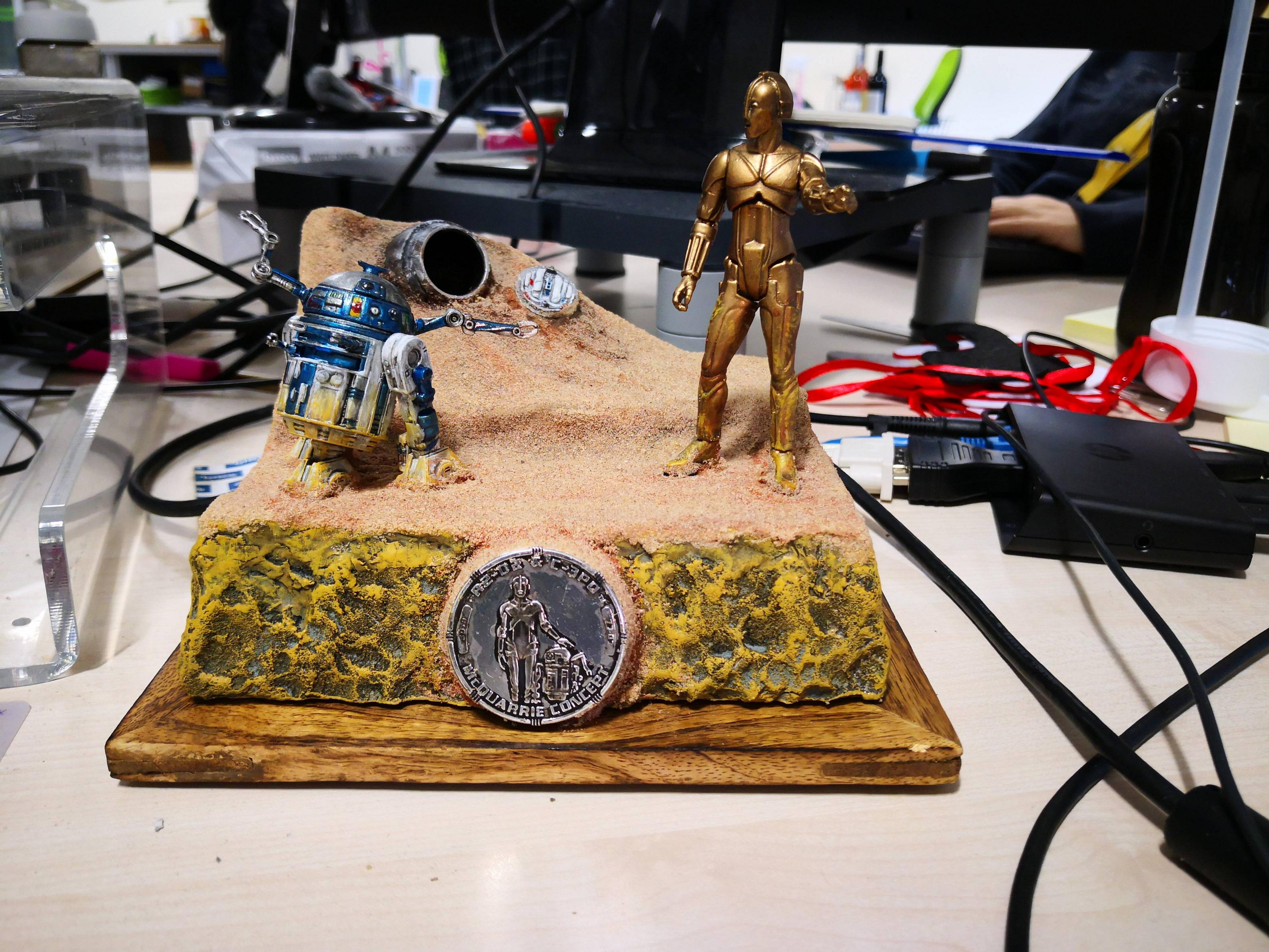 Friend made me this diorama!