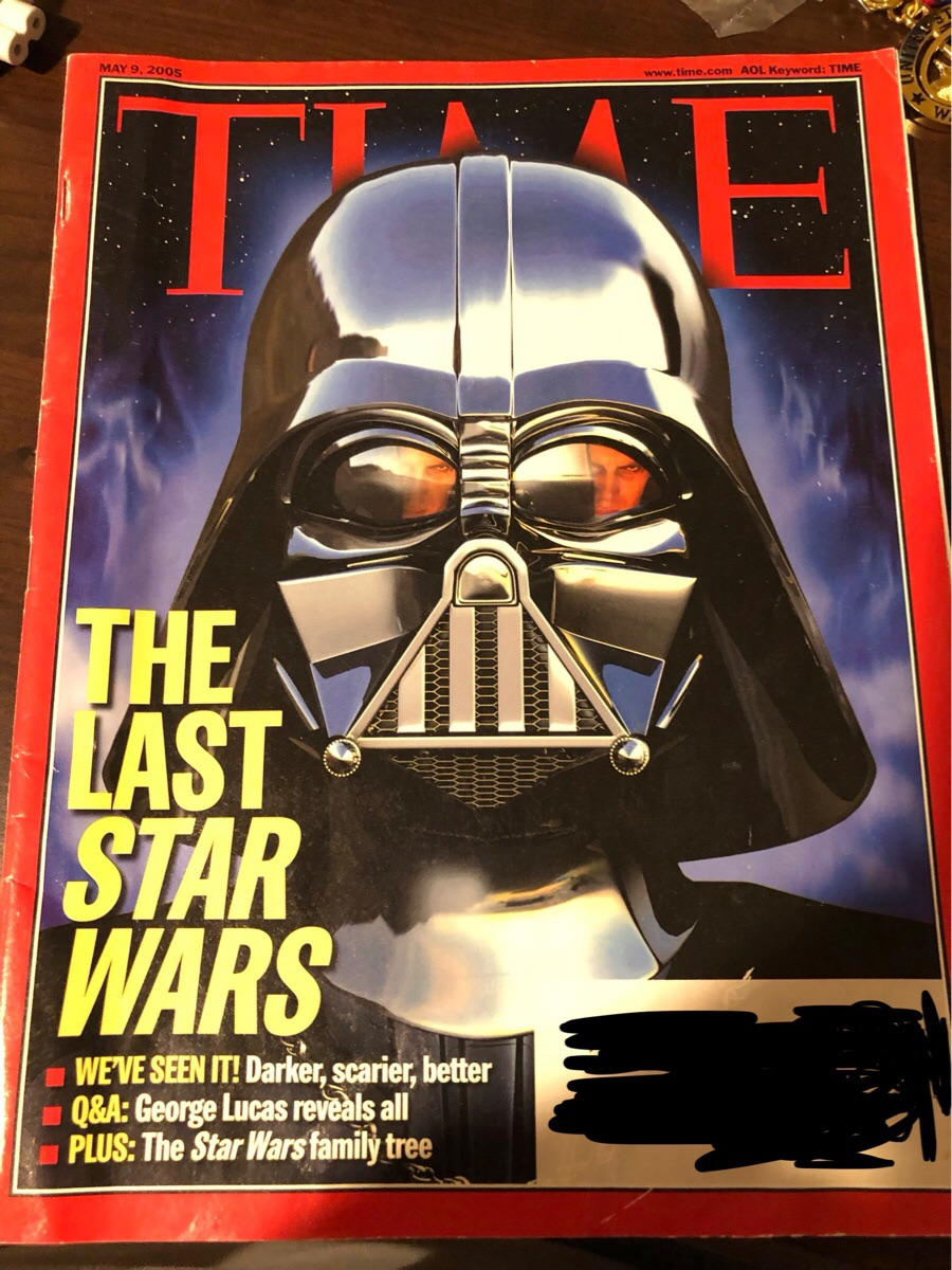 This Time Magazine cover from 2005 hasn't aged well.