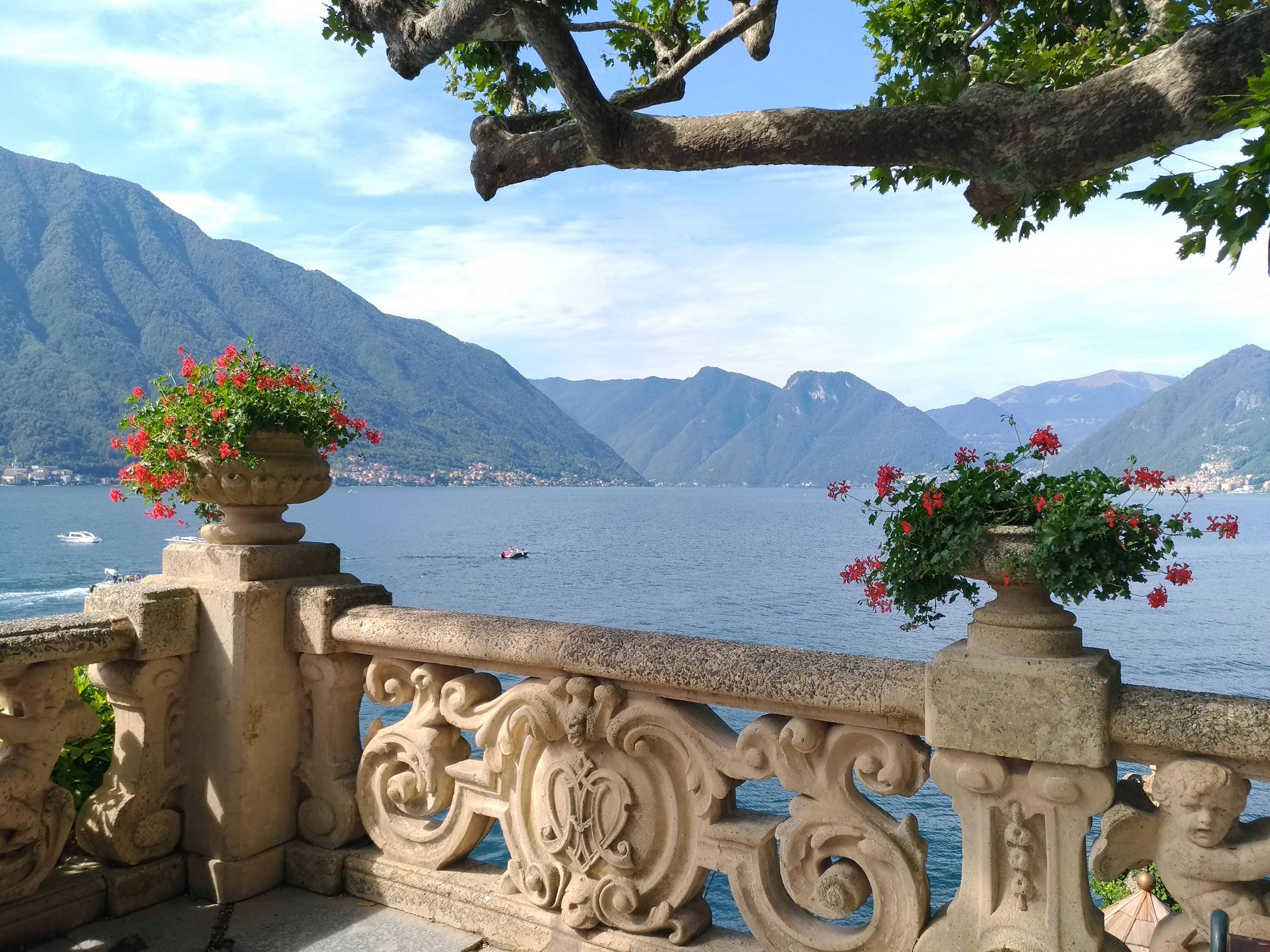 Visited Villa Balbianello today, where they filmed some Naboo scenes in Attack of the Clones