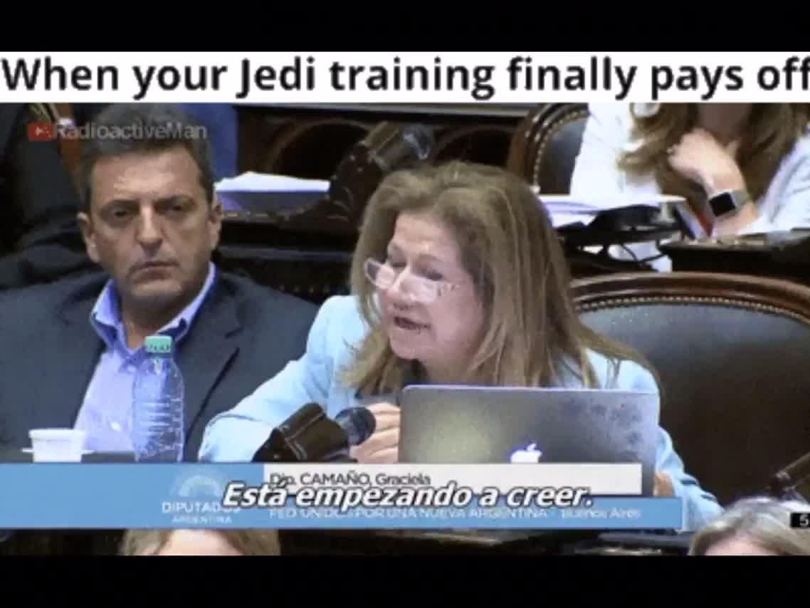 A true Jedi.