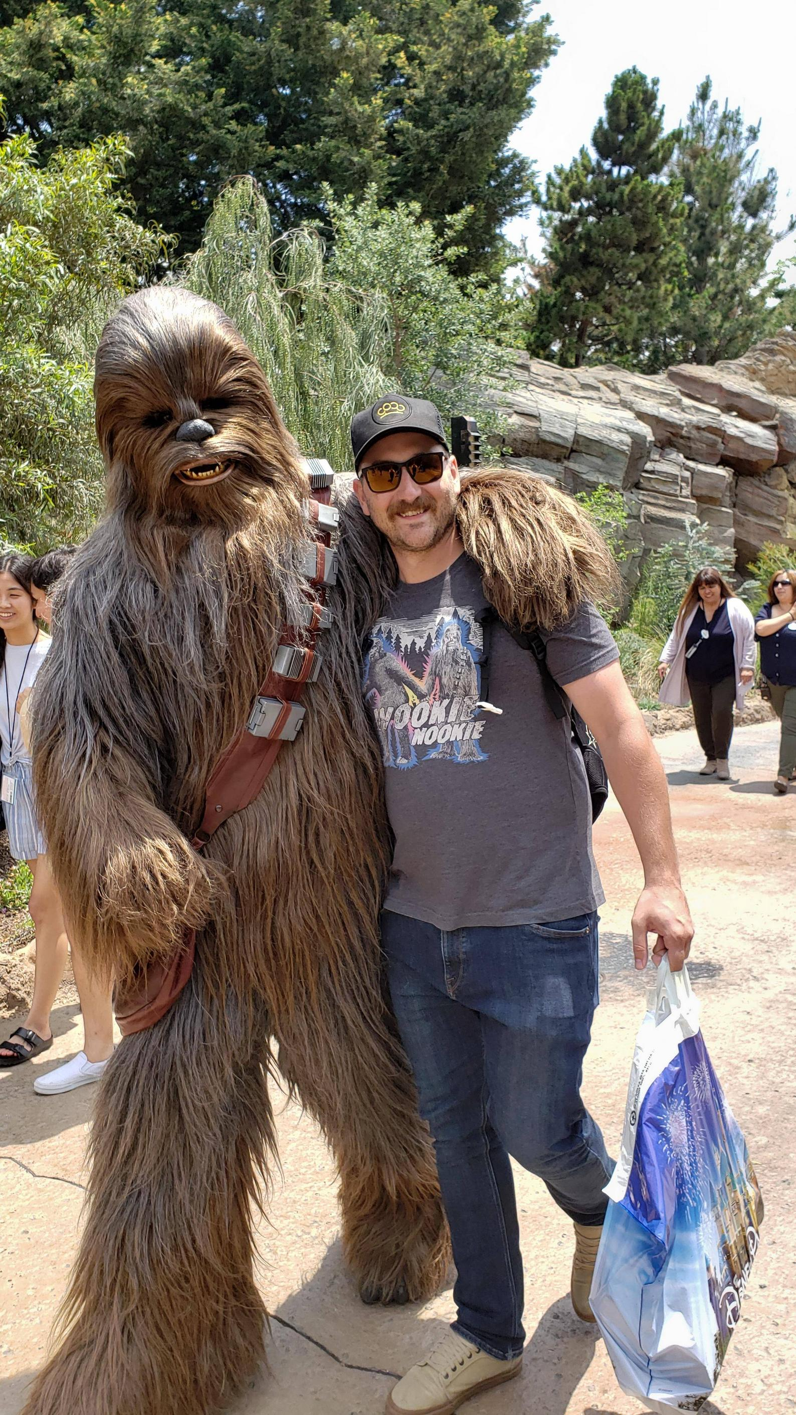 Has anyone else been to Galaxy\'s Edge in Disneyland?