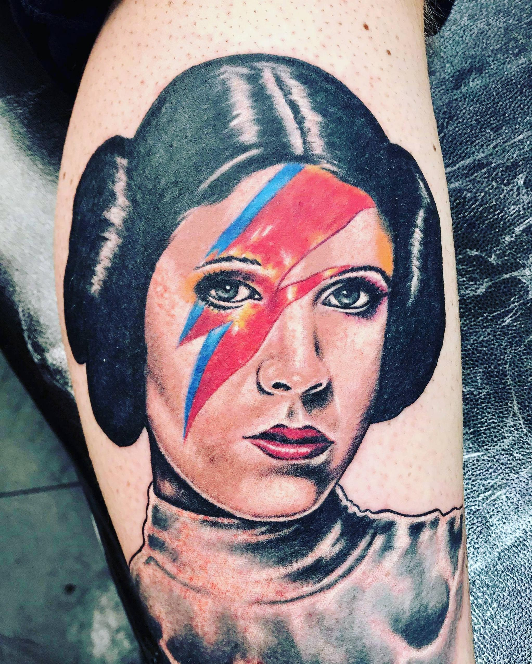 My first Star Wars tattoo! Our general, Rebel Rebel