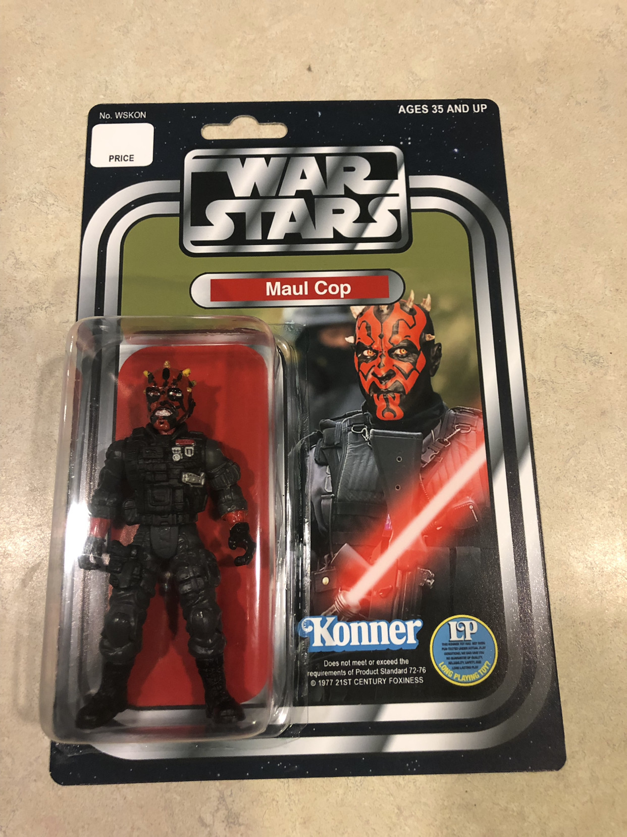 Maul Cop - A silly hobby continues...