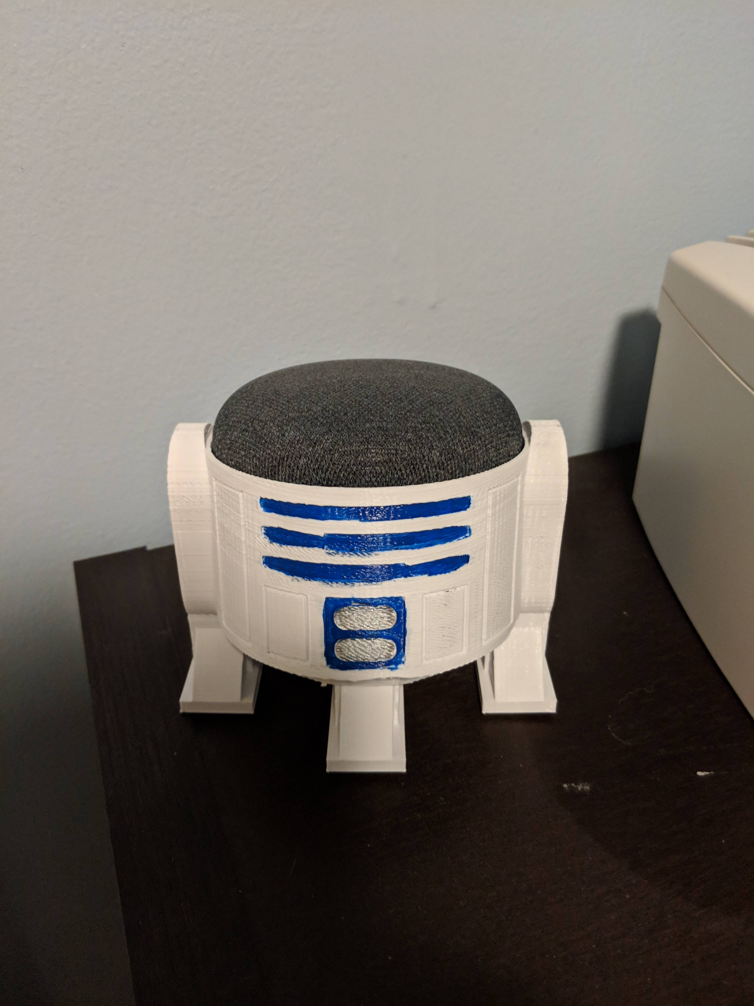 My 3d printed R2D2 Google home mini stand