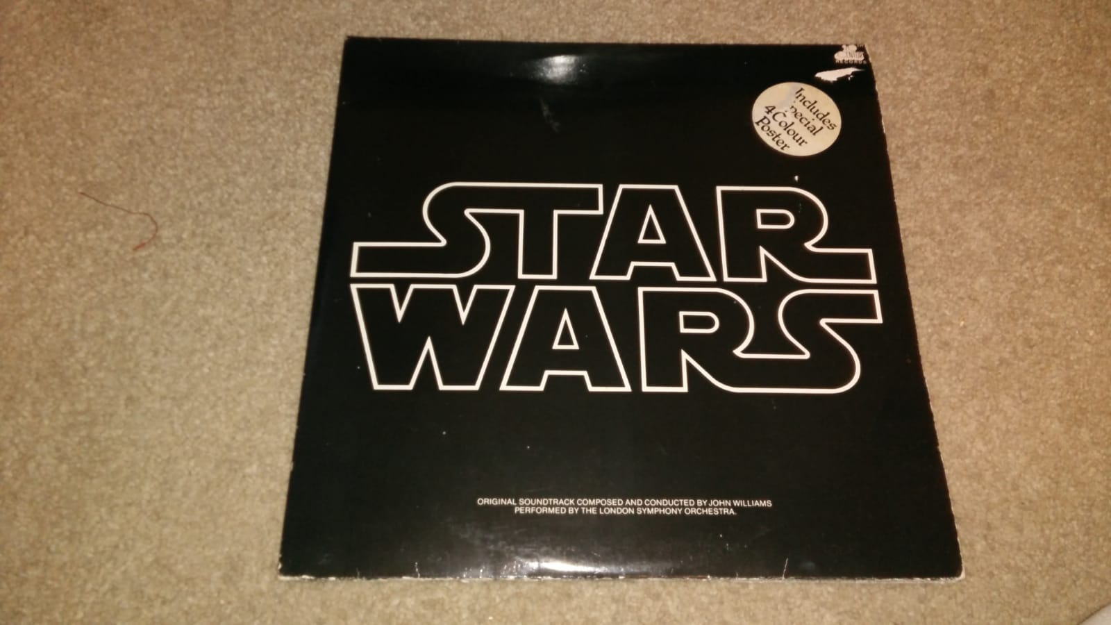 My mate just bought this 1977 vinyl from a charity shop