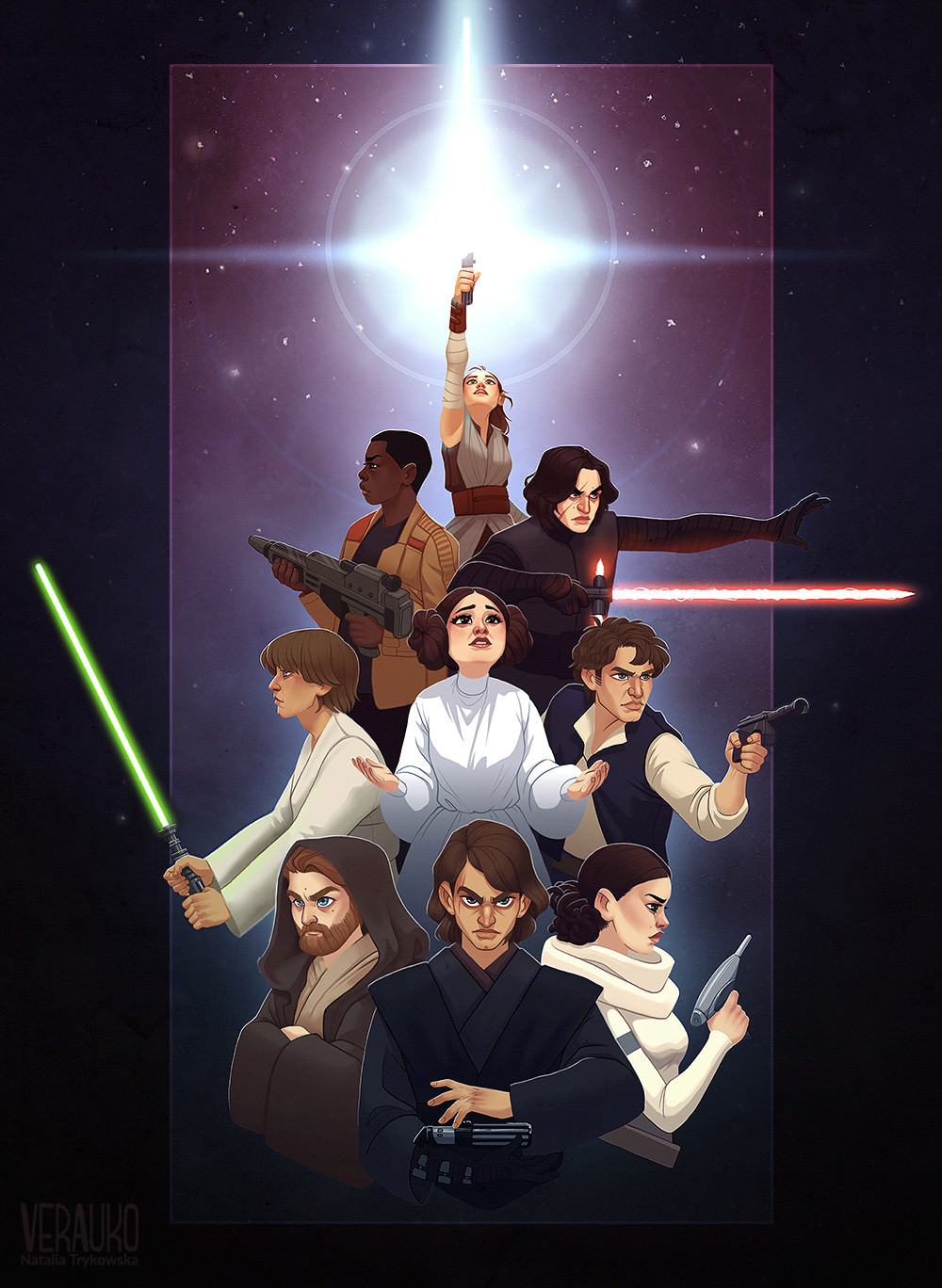 The Force Around Us by Natalia Trykowska