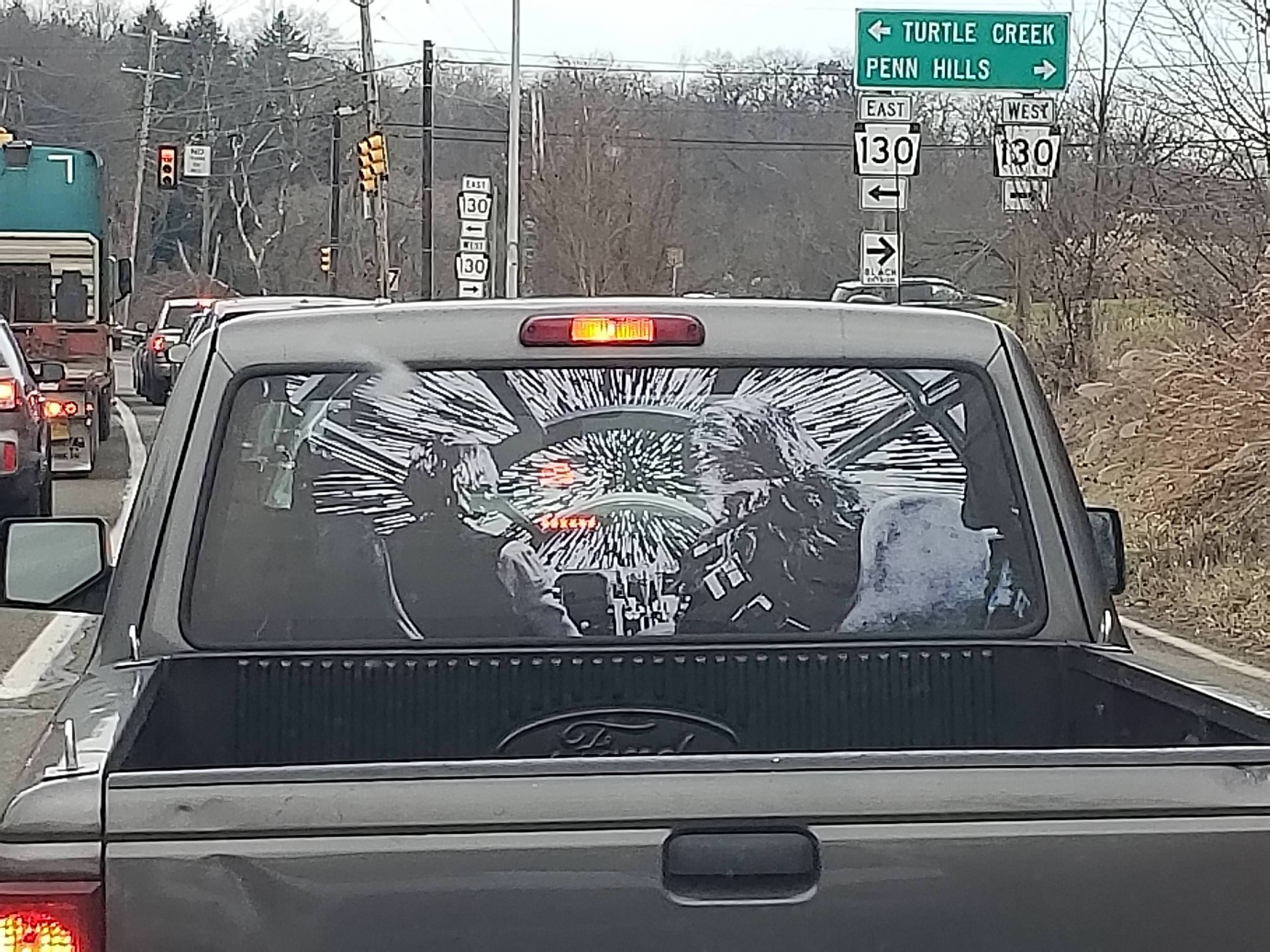 Saw this near Pittsburgh this morning