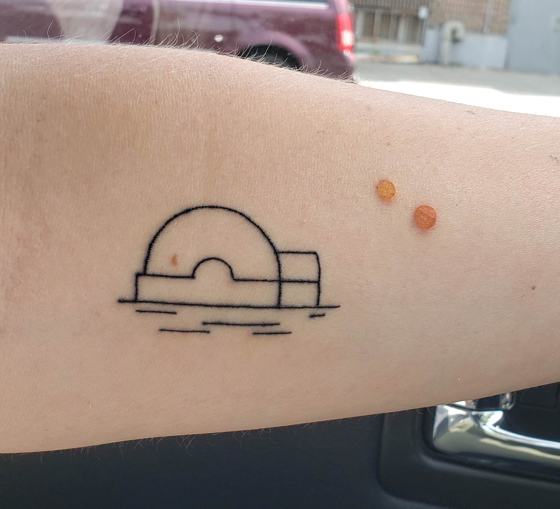 My Tatooine Tattoo