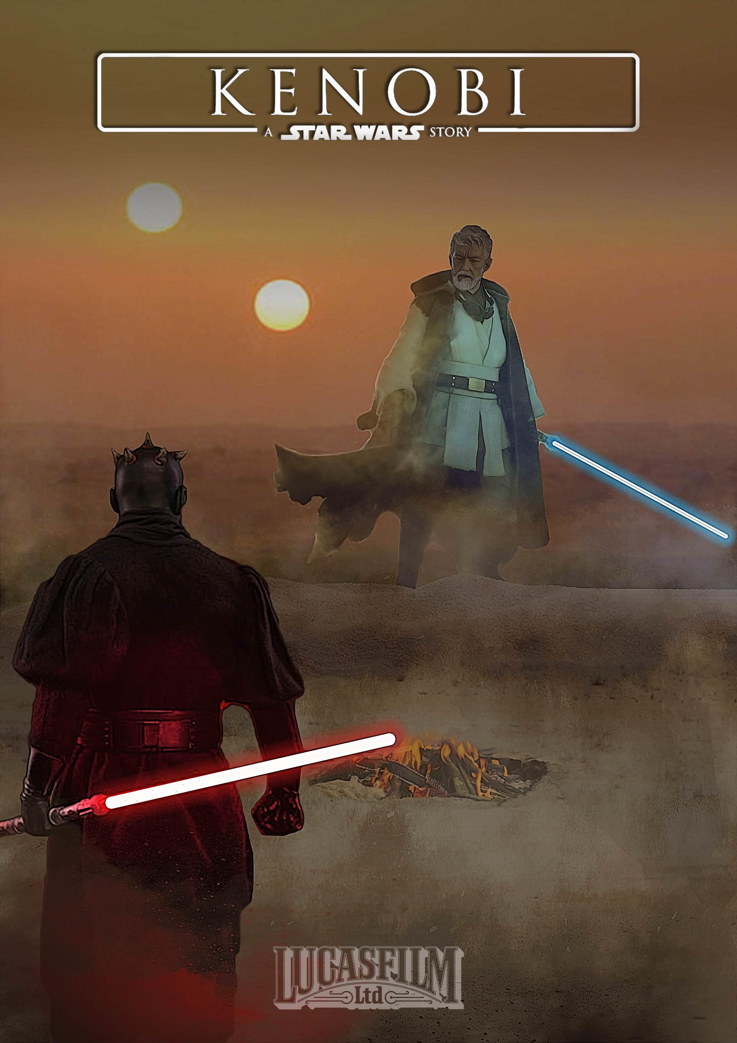 (Fanart) Sixth Scale figures \'Kenobi\' poster