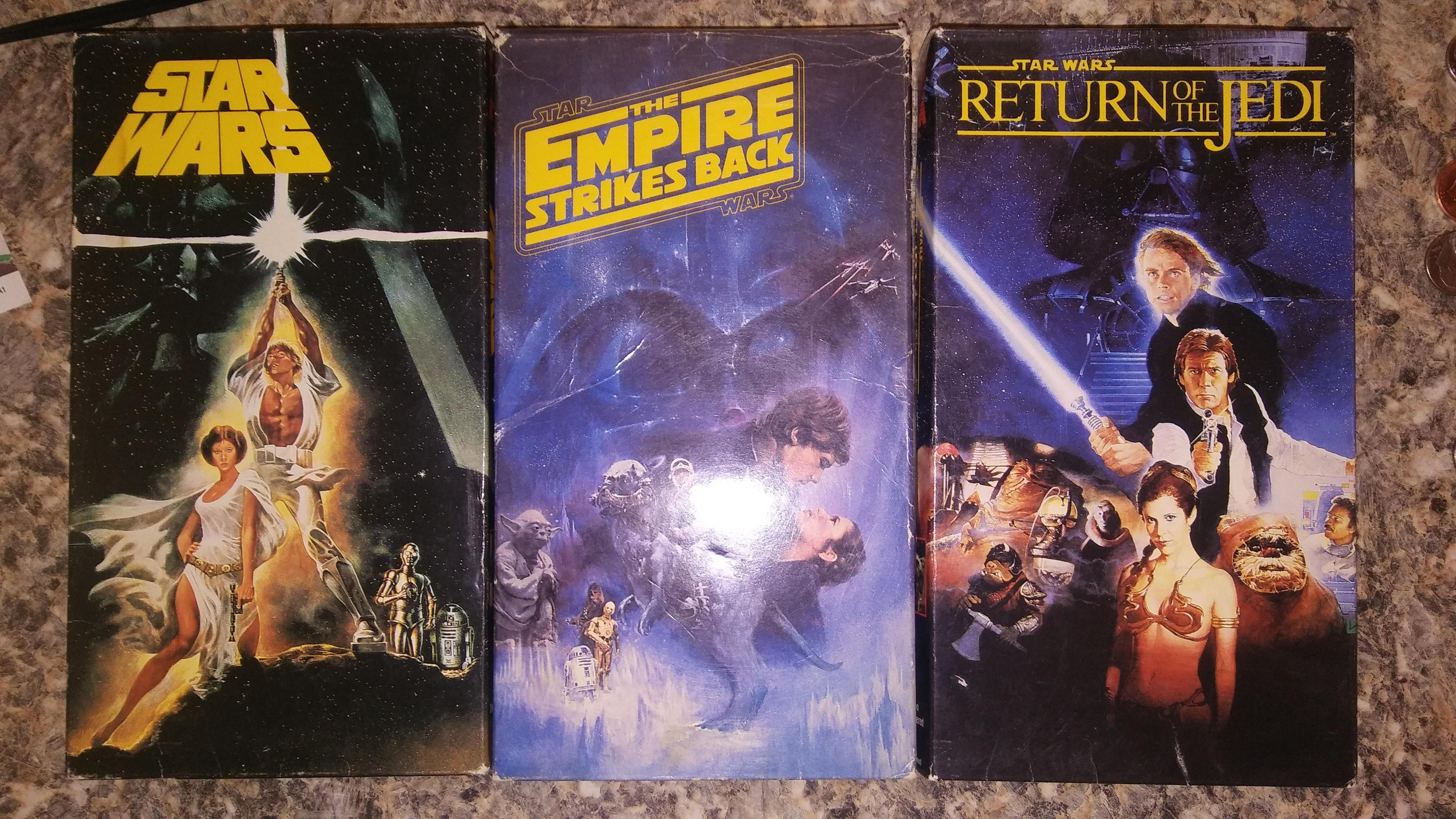My father was getting rid of his VHS collection - I only wanted 3 movies.