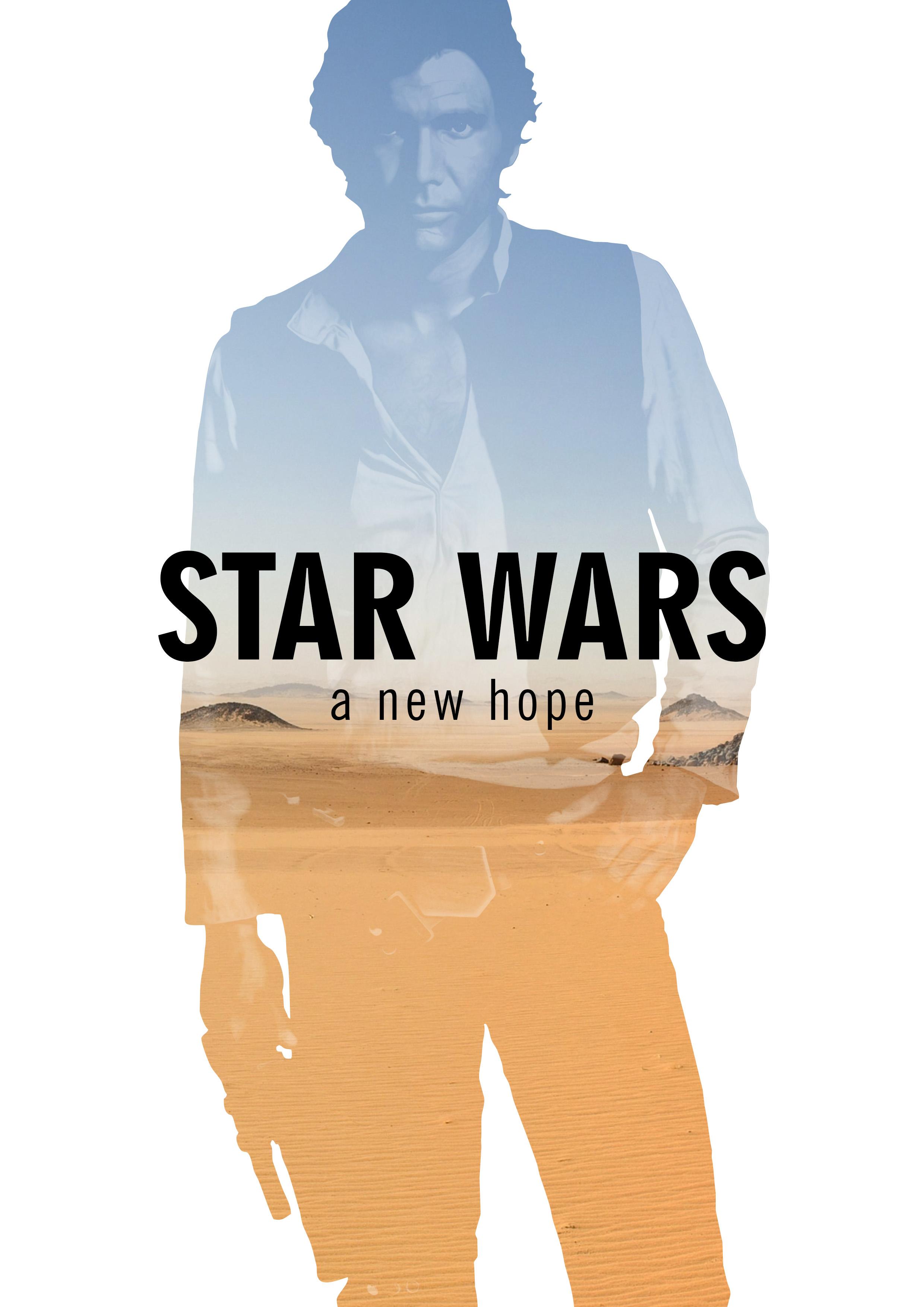 Star Wars Original Trilogy - Fanart posters