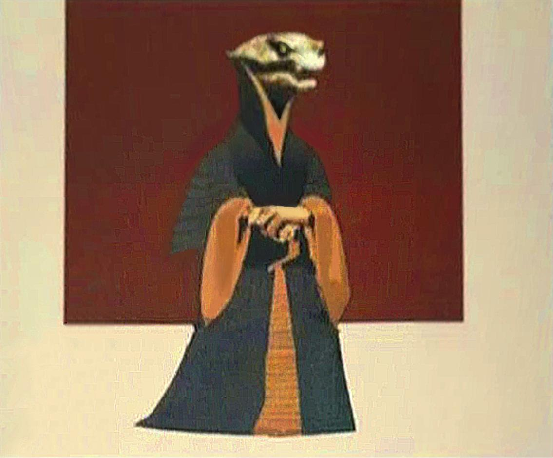 Reminder that Supreme Leader Snoke was going to be an actual lizard person