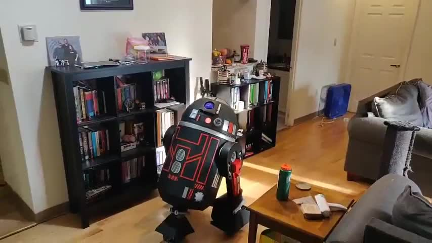 After three years, I\'ve finally finished my own custom astromech droid!