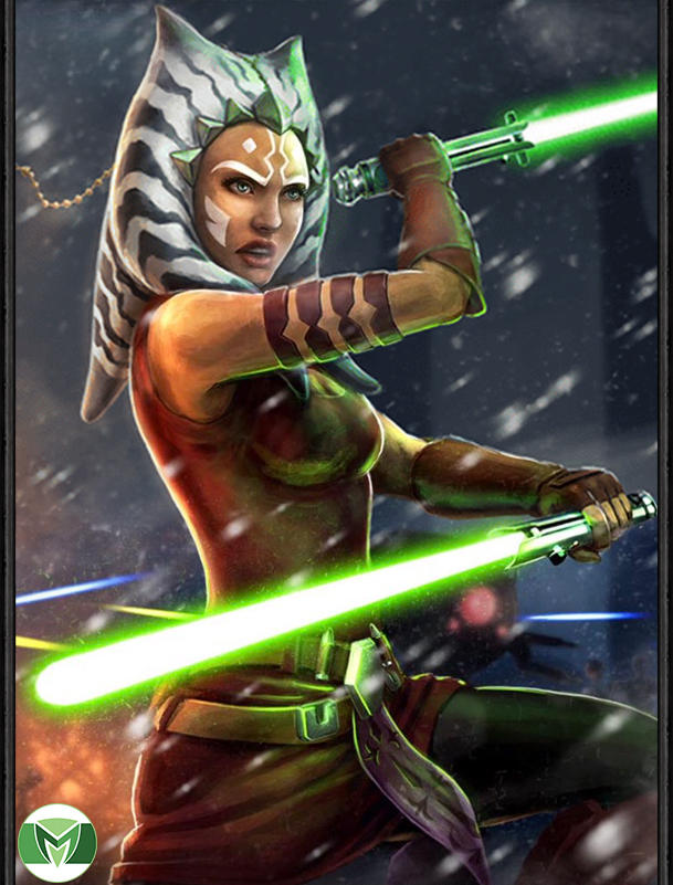 The first time I\'ve seen a realistic Ahsoka that doesn\'t look weird
