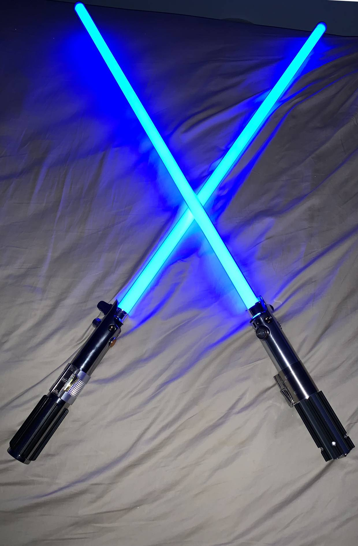I thought 1 would be enough... it turns out Lightsabers are dangerously addictive!