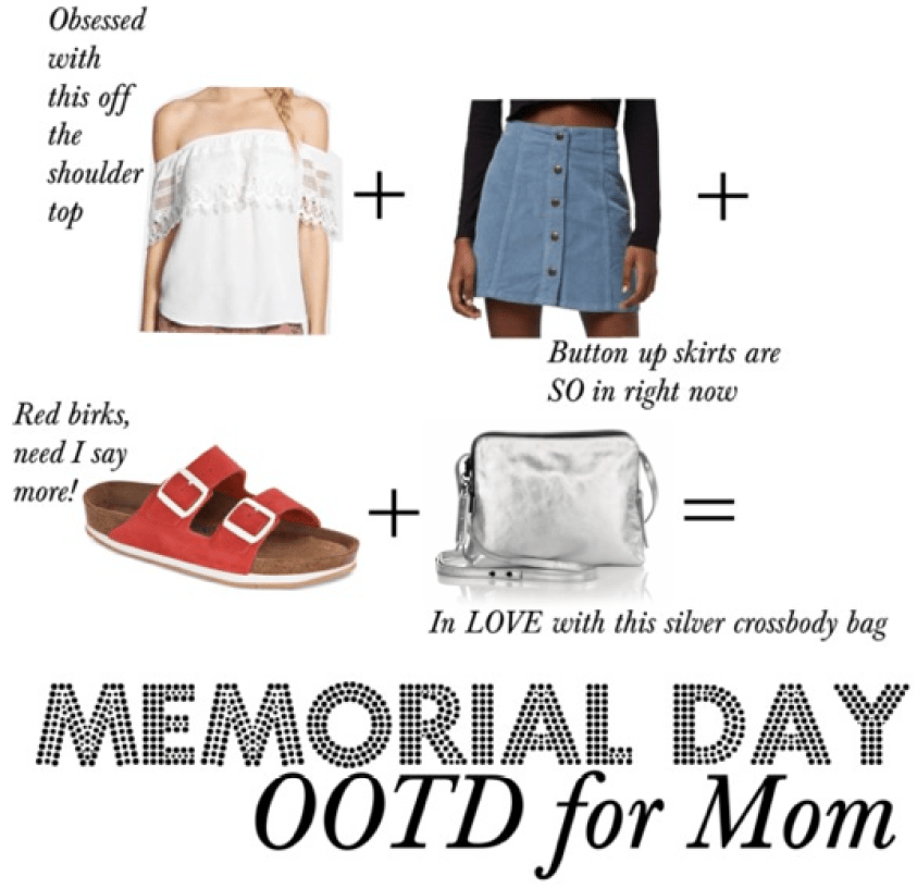 I Adore What I Love Blog // WHAT YOU SHOULD WEAR ON MEMORIAL DAY {MOM + BABY} // Memorial Day attire for Mom // www.iadorewhatilove.com #iadorewhatilove