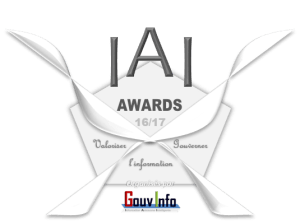 Logo IAI Awards GouvInfo - 16-17