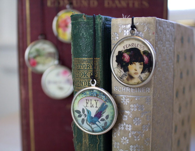 ice resin bookmarks fly and fearless