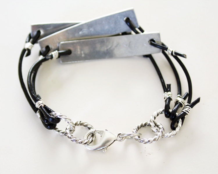 be authentic stamped metal bracelet clasp