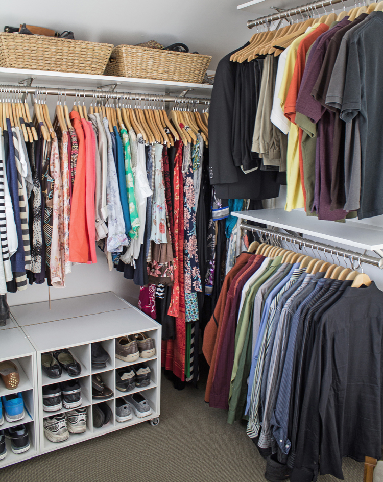 Closet Organization   Utilizing Different Ceiling Heights