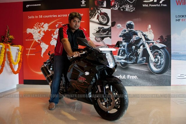 Hyosung Garware Motors Bangalore showroom launch