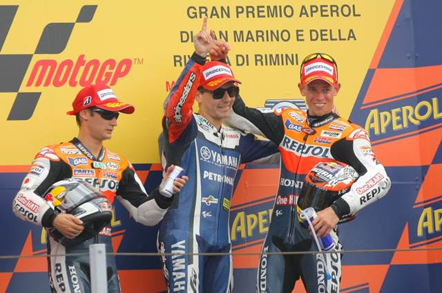 Lorenzo returns to victory in San Marino