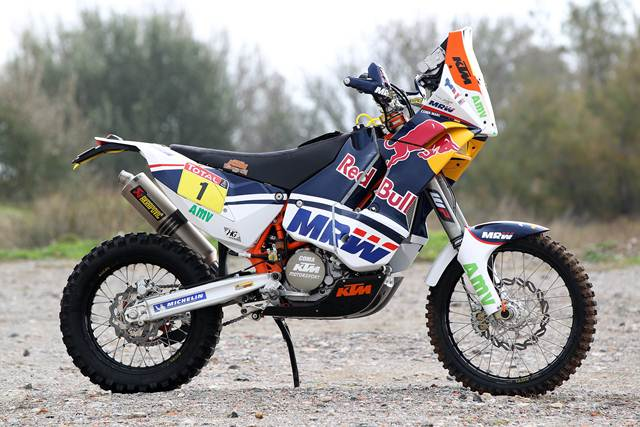 KTM Rally 450 Specifications announced