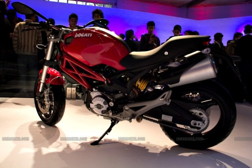 Monster 795 Ducati Auto Expo 2012 India 13