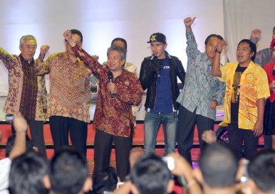 Yamaha Factory Riders visit Yamaha Coaching Clinic Indonesia