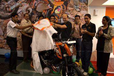 KTM Duke 200 Bangalore launch 18