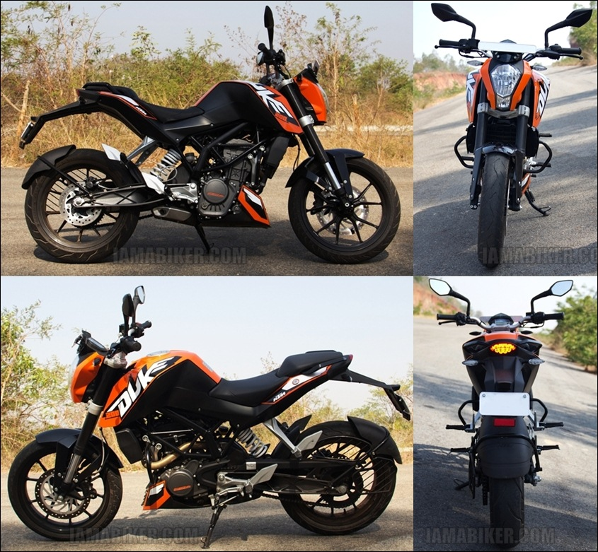 KTM Duke 200 review - 360 view