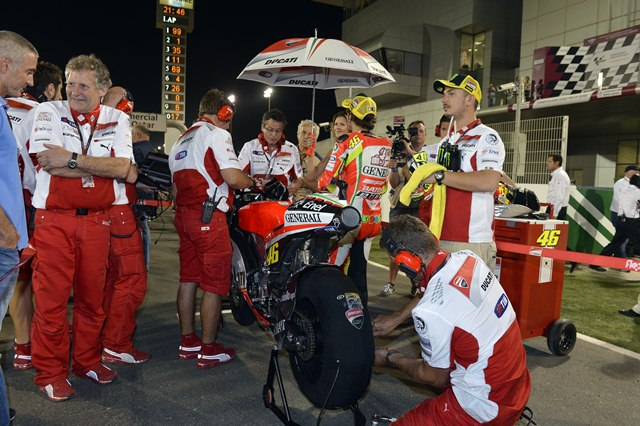 MotoGP 2012 Qatar Ducati race day report