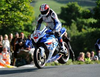 Isle of Man TT 2012 mcGuinness on top