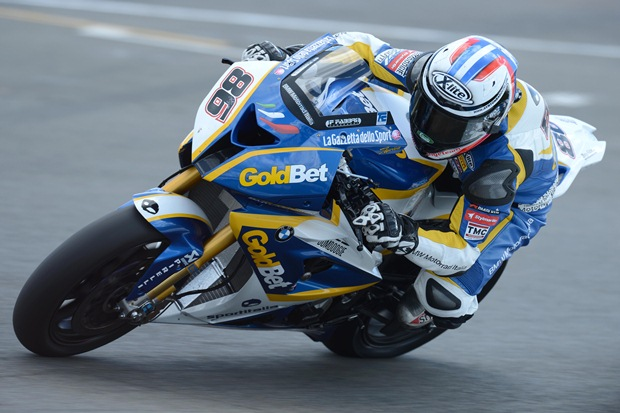 WSBK 2012 Donington Italia Goldbet QP2 Superpole report