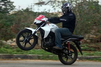 honda cb twister review road test
