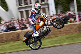 Troy Corser BMW R 90 S Goodwood Festival