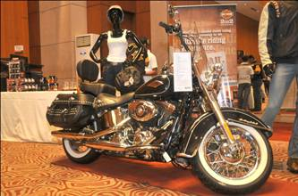 Harley Davidson India at INK IT tattoo convention