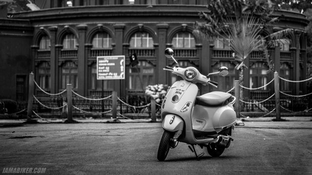 vespa 125 india - review